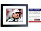 Steve Spurrier Signed - Autographed South Carolina Gamecocks 8x10 inch Photo BLACK CUSTOM FRAME - PSA/DNA Certificate of Authenticity (COA)
