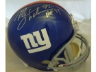 Michael Strahan Autographed New York Giants current replica full size helmet w/HOF 14 JSA