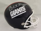 Michael Strahan Autographed New York Giants T/B Replica Helmet HOF JSA