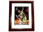 Steven Tyler Signed - Autographed Aerosmith 11x14 inch Photo MAHOGANY CUSTOM FRAME - Guaranteed to pass PSA or JSA