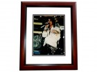 Steven Tyler Signed - Autographed Aerosmith Concert 11x14 inch Photo MAHOGANY CUSTOM FRAME - Guaranteed to pass PSA or JSA