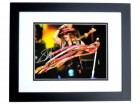 Steven Tyler Signed - Autographed Concert 11x14 Aerosmith Photo BLACK CUSTOM FRAME - Guaranteed to pass PSA or JSA