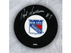 Red Sullivan New York Rangers Autographed Hockey Puck