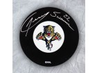 Jeremy Swanson Florida Panthers Autographed Hockey Puck