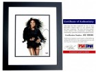 Serena Williams Signed - Autographed Tennis - Model 8x10 inch Photo BLACK CUSTOM FRAME - 4x Gold Medalist - PSA/DNA Certificate of Authenticity (COA)