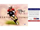 Steve Young Signed - Autographed San Francisco 49ers 8x10 inch Photo - PSA/DNA Certificate of Authenticity (COA)