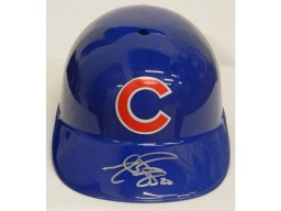 Matt Szczur Signed Chicago Cubs Replica Batting Helmet