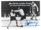 Max Schmeling Signed 8x10 Photo B&W