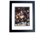 Shaquille O'Neal and Chris Webber Signed - Autographed Orlando Magic 8x10 inch Photo BLACK CUSTOM FRAME - SHAQ ATTACK - Online Authentics Authenticated - Guaranteed to pass PSA or JSA