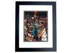 Shareef Abdur-Rahim Autographed Vancouver Grizzlies 8x10 Photo BLACK CUSTOM FRAME