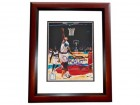 Shareef Abdur-Rahim Signed - Autographed Vancouver Grizzlies 8x10 inch Photo MAHOGANY CUSTOM FRAME - Guaranteed to pass PSA or JSA