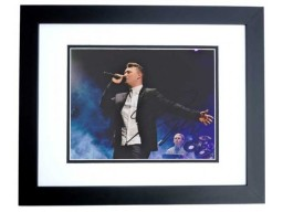 Sam Smith Signed - Autographed Concert 8x10 inch Photo BLACK CUSTOM FRAME - Guaranteed to pass PSA or JSA