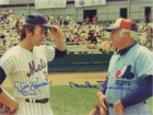 Duke / Koosman, Jerry Snider Signed 8x10 Photo By Duke Snider and Jerry Kossman