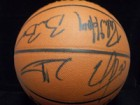 San Antonio Spurs (2003-04) Signed Spalding Official All Court Basketball
