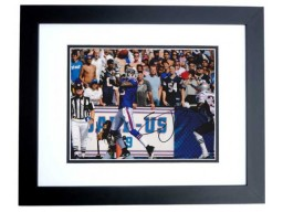 Stevie Johnson Signed - Autographed Buffalo Bills 8x10 inch Photo BLACK CUSTOM FRAME - Guaranteed to pass PSA or JSA