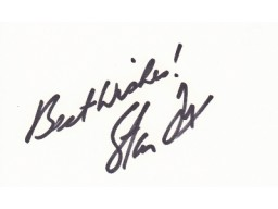 Stan Fox Signed - Autographed Nascar Auto Racing 3x5 inch index card - Guaranteed to pass PSA or JSA - Deceased 2000
