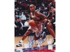 Stephon Marbury Autographed New Jersey Nets 8x10 Photo
