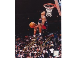 Steve Francis Autographed Houston Rockets 8x10 Photo