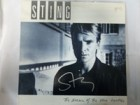 Sting The Dream of the Blue Turtles Signed Album Cover