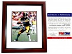 Terry Bradshaw Signed - Autographed Pittsburgh Steelers 11x14 inch Photo MAHOGANY CUSTOM FRAME - PSA/DNA Certificate of Authenticity (COA)