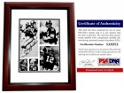 Terry Bradshaw Signed - Autographed Pittsburgh Steelers 8x10 inch Photo MAHOGANY CUSTOM FRAME - PSA/DNA Certificate of Authenticity (COA) - 4x Super Bowl Champion