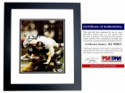 Terry Bradshaw Signed - Autographed Pittsburgh Steelers 8x10 inch Photo BLACK CUSTOM FRAME - PSA/DNA Certificate of Authenticity (COA)
