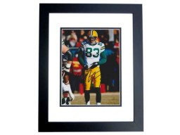 Tom Crabtree Signed - Autographed Green Bay Packers 8x10 inch Photo BLACK CUSTOM FRAME - Guaranteed to pass PSA or JSA  - SUPER BOWL XLV CHAMPION