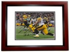 Tom Crabtree Signed - Autographed Green Bay Packers 8x10 inch Photo MAHOGANY CUSTOM FRAME - Guaranteed to pass PSA or JSA with SUPER BOWL XLV CHAMPS Inscription