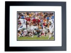Toby Gerhart Signed - Autographed Stanford Cardinals 8x10 inch Photo BLACK CUSTOM FRAME - Guaranteed to pass PSA or JSA