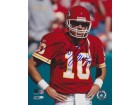 Trent Green Signed - Autographed Kansas City Chiefs 8x10 inch Photo - Guaranteed to pass PSA or JSA
