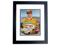 Terry Labonte Unsigned Kelloggs Racing 8x10 inch Photo BLACK CUSTOM FRAME