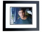 Taylor Lautner Signed - Autographed 11x14 inch Photo BLACK CUSTOM FRAME - Guaranteed to pass PSA or JSA