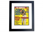 Tom Lehman Signed - Autographed Golf Digest Cover BLACK CUSTOM FRAME
