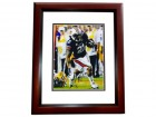 Tre Mason Signed - Autographed Auburn Tigers 8x10 inch Photo MAHOGANY CUSTOM FRAME - Guaranteed to pass PSA or JSA