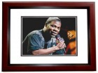 Tracy Morgan Signed - Autographed SNL Comedian 8x10 inch Photo MAHOGANY CUSTOM FRAME - Guaranteed to pass PSA or JSA