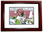 Trent Richardson Signed - Autographed Alabama Crimson Tide 8x10 Photo MAHOGANY CUSTOM FRAME