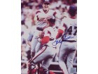 TOM SEAVER SIGNED 16X20 PHOTO - 300TH WIN