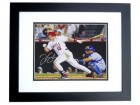 Tim Salmon Signed - Autographed California Angels 8x10 inch Photo BLACK CUSTOM FRAME - Guaranteed to pass PSA or JSA
