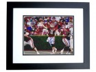Tyler Wilson Autographed Arkansas Razorbacks 8x10 Photo BLACK CUSTOM FRAME