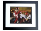 Tyler Wilson Signed - Autographed Arkansas Razorbacks 8x10 Photo BLACK CUSTOM FRAME