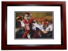 Tyler Wilson Signed - Autographed Arkansas Razorbacks 8x10 Photo MAHOGANY CUSTOM FRAME