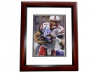 Taylor Martinez Signed - Autographed Nebraska Cornhuskers 8x10 Photo MAHOGANY CUSTOM FRAME with GO BIG RED Inscription