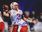 Taylor Martinez Signed - Autographed Nebraska Cornhuskers 8x10 Photo with GO BIG RED Inscription
