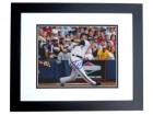 Taylor Green Signed - Autographed Milwaukee Brewers 8x10 inch Photo BLACK CUSTOM FRAME - Guaranteed to pass PSA or JSA