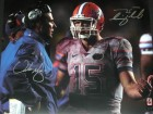 Tim Tebow and Urban Meyer DUAL Signed - Autographed Florida Gators 16x20 inch Photo - Guaranteed to pass PSA or JSA vs FSU