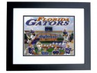 Tim Tebow Unsigned Florida Gators 8x10 inch Collage Photo BLACK CUSTOM FRAME