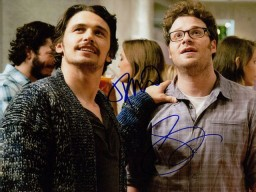 This is The End (James Franco / Seth Rogen) Signed 8x10 Photo By James Franco and Seth Rogen