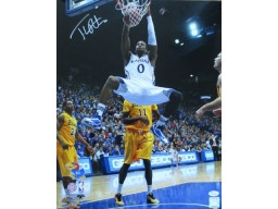 Thomas Robinson Signed University of Kansas 16x20 Autographed Photo JSA COA Photo
