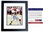 Thurman Thomas Signed - Autographed Buffalo Bills 8x10 inch Photo BLACK CUSTOM FRAME - PSA/DNA Certificate of Authenticity (COA)