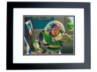 Tim Allen Signed - Autographed TOY STORY 8x10 inch Photo BLACK CUSTOM FRAME - Guaranteed to pass PSA or JSA - Buzz Lightyear